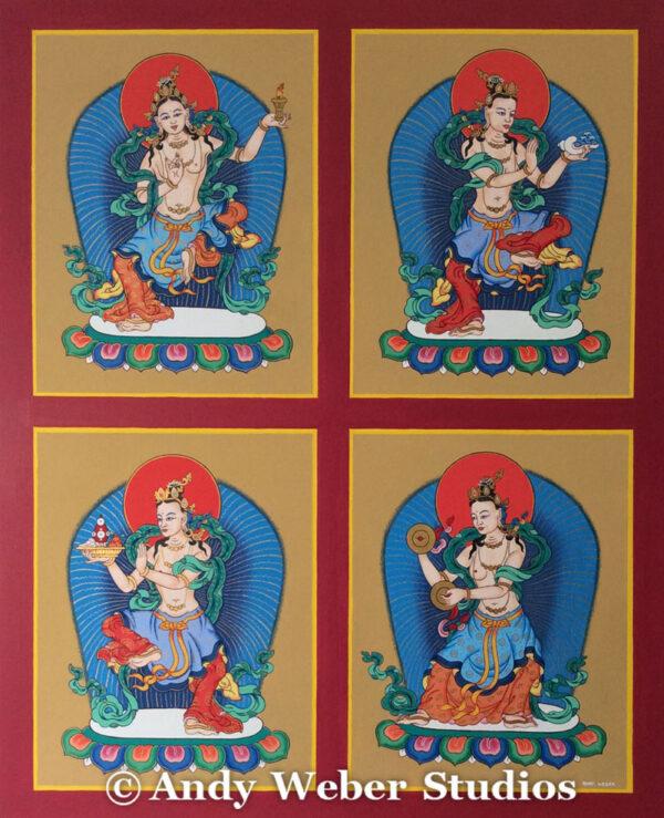 8 Offering Goddesses #1